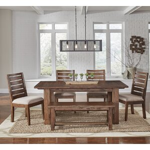 Johnston 6 Piece Dining Set by Loon Peak