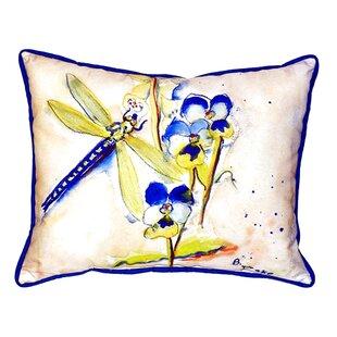 Dragonfly Indoor/Outdoor Lumbar Pillow