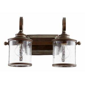 Bathroom Lights Copper copper bathroom vanity lighting you'll love | wayfair
