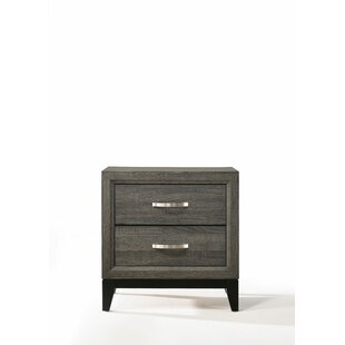 Louella 2 Drawer Nightstand