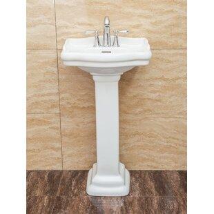 Roosevelt Pedestal Sink Wayfair
