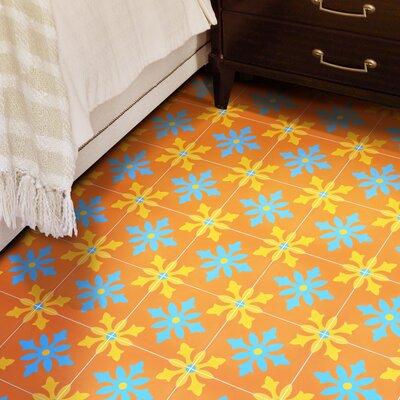 "Azrou 8"" x 8"" Cement Field Tile Moroccan Mosaic"
