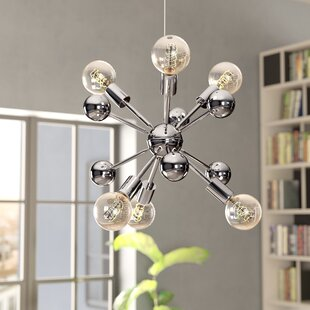 Wrought Studio Dorcia 6-Light Sputnik Chandelier