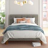 Alanna Tufted Upholstered Platform Bed by Foundstone™