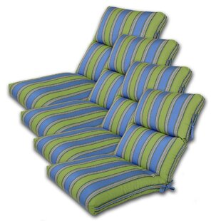 Comfort Classics Inc. Indoor/Outdoor Sunbrella Chair Cushion (Set of 4)