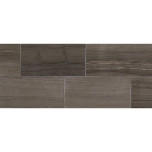 Review Harrison 6 x 3 Lightly Polished Natural Stone Field Tile in Silver Screen by Itona Tile