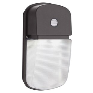 20-Watt LED Dusk to Dawn Outdoor Security Wall Pack by Lithonia Lighting