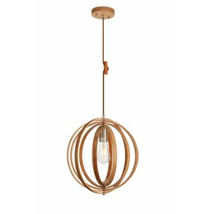 George Oliver Warnick 1-Light Globe Pendant