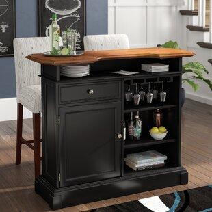 Home Bar With Mini Fridge Wayfair