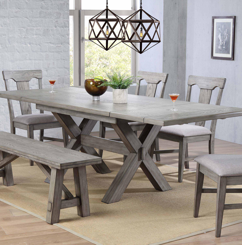Beau Gray Wood Kitchen U0026 Dining Tables Youu0027ll Love In 2019 | Wayfair