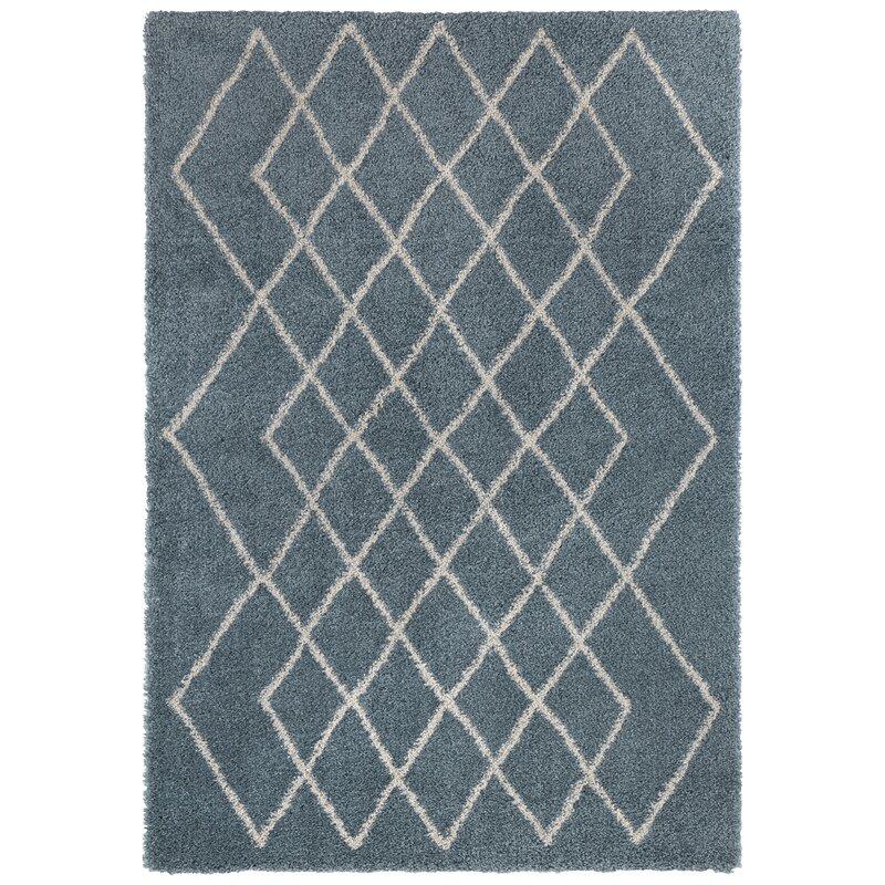 Mint Rugs Touch Shag Blue Rug Wayfair