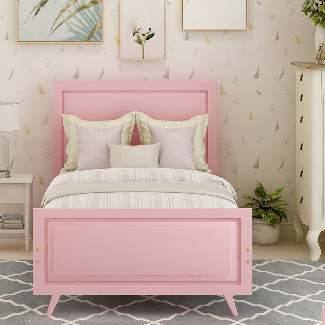 Harriet Bee Cyprus Twin Platform Bed Wayfair