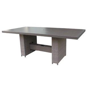 Meeks Wicker Dining Table