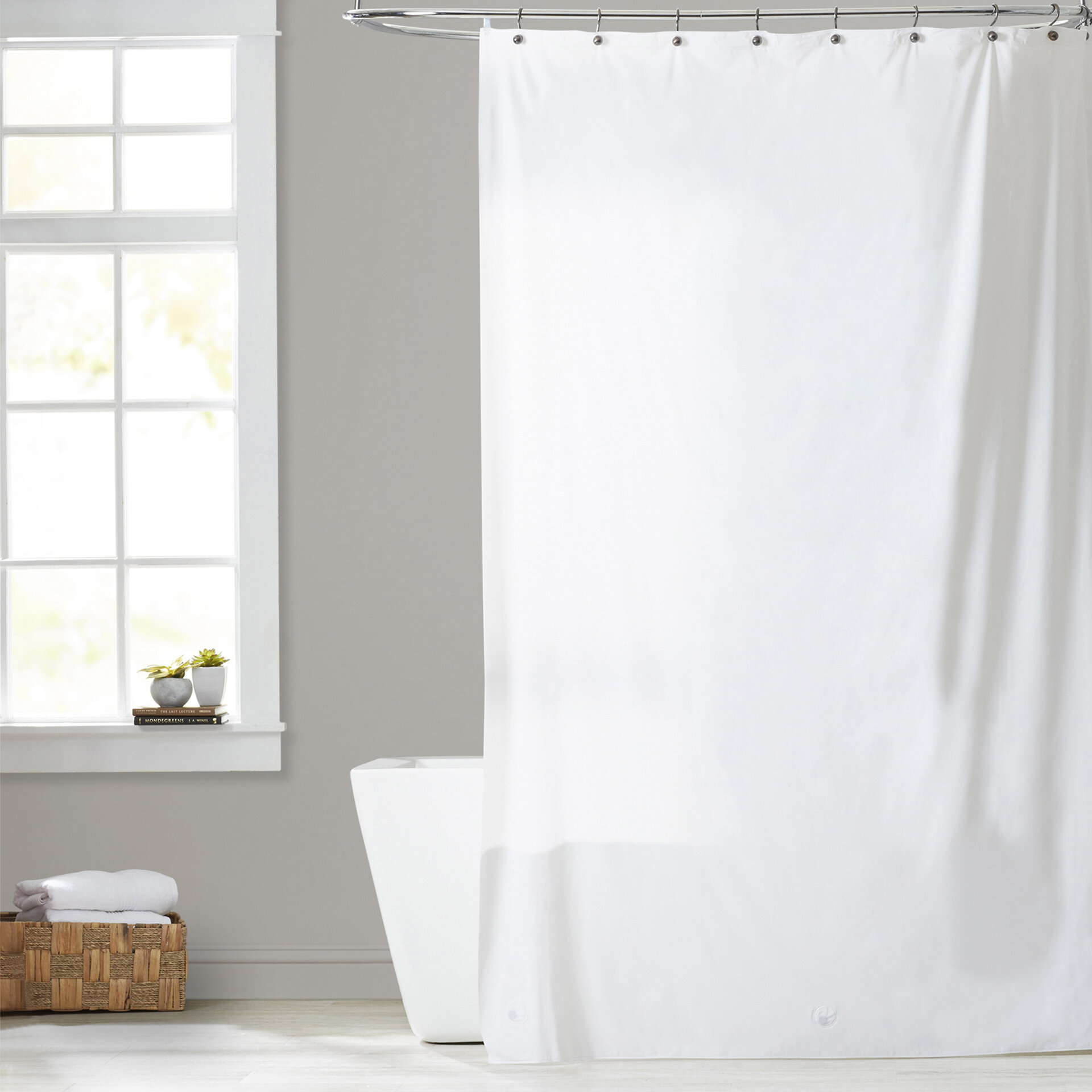 Symple Stuff Utilitarian Heavy Duty Shower Curtain Reviews