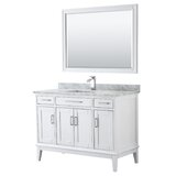Margate 48 Single Bathroom Vanity Set with Mirror by Wyndham Collection