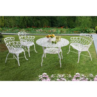 Huma 4 Piece Dining Set by Ophelia & Co.