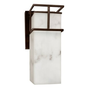 Keyon 1-Light Outdoor Sconce by Brayden S..