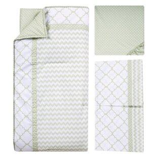Troutt 3 Piece Crib Bedding Set