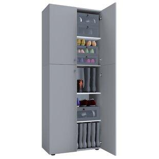 Hassett 20 Pair Shoe Storage Cabinet By Ebern Designs