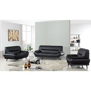 Lacayo 3 Piece Living Room Set