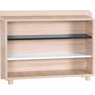 Ginsberg Low Wide 68.8cm Standard Bookcase By Mercury Row