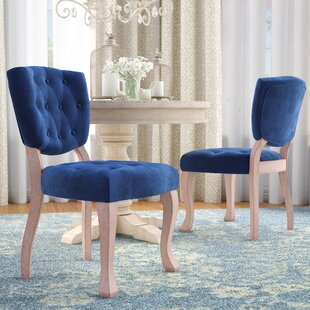 Wachtel Upholstered Dining Chair (Set of ..