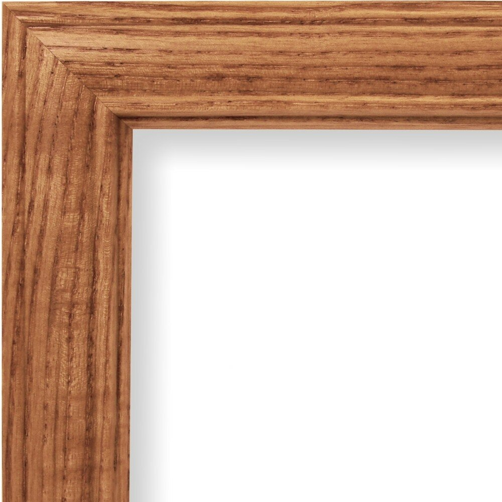 20x24 Wood Picture Frame with Glass and 125/'/' Wide Black