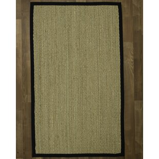 Alland Mayfair Handwoven Brown Area Rug by Highland Dunes