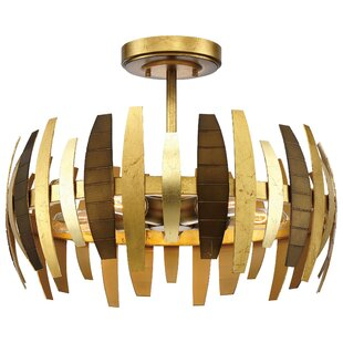 Metropolitan by Minka Manitou 5-Light Semi Flush Mount