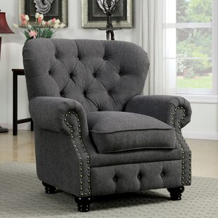 Felipe Chesterfield Chair by Dar by Home Co