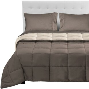 Ebern Designs Ortegon Reversible Comforter Set