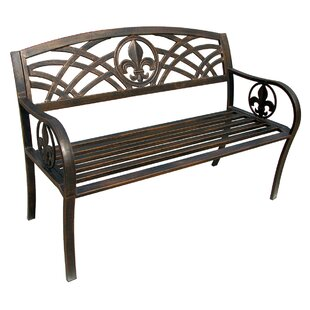 Michelle Metal Garden Bench