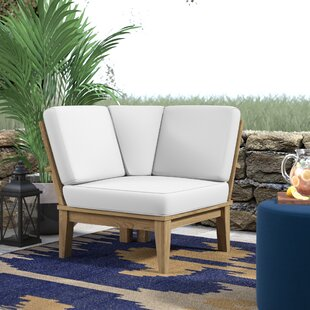 Elaina Teak Patio Chair with Cushions