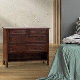 Merton 3 Drawer Combo Dresser by Loon Peak®