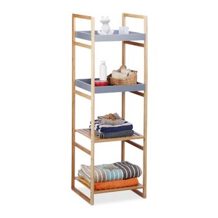 Review Guillermo 40 X 125.5cm Bathroom Shelf