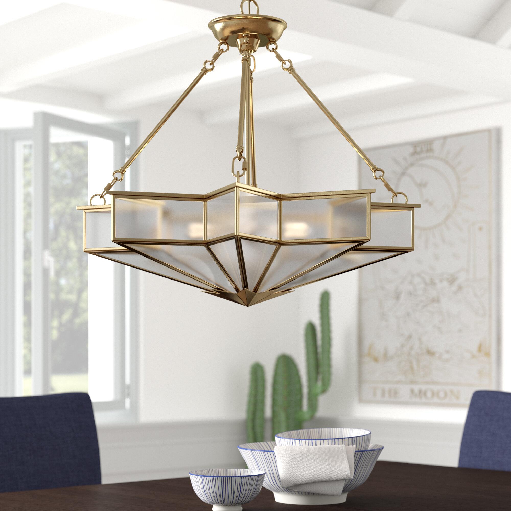 Trademark Gameroom University of Miami Sebastian Single Shade Brass Bar Lamp 14-Inch