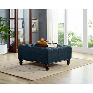 Camarena Tufted Cocktail Ottoman By Charlton Home