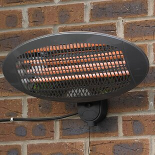 Hickman Wall Mounted Electric Patio Heater By Sol 72 Outdoor