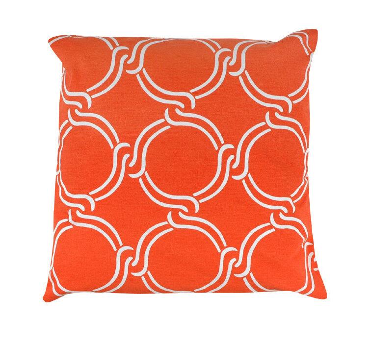 Wrought Studio Vasilisa Square Geometric 100 Cotton Throw Pillow Wayfair