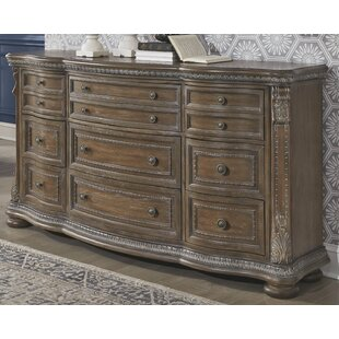 Ouzts 9 Drawer Dresser by Astoria Grand