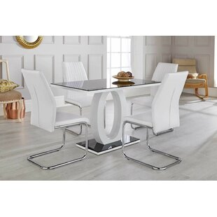 Kamryn Dining Set With 4 Chairs By Zipcode Design