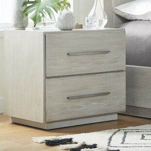 Monatuk 2 Drawer Nightstand