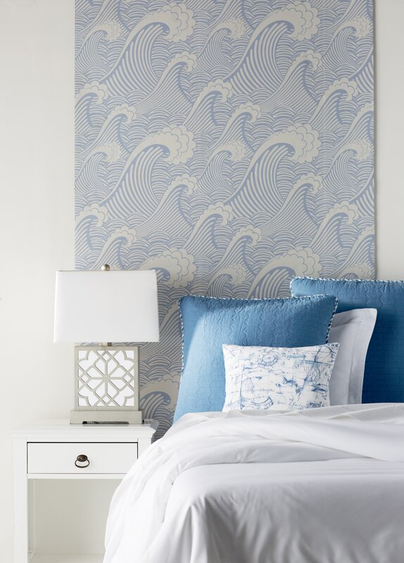 Waves Of Chic Removable Wallpaper
