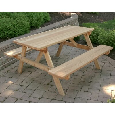 Frankel Picnic Table by August Grove Herry Up
