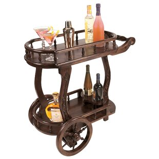 Pemberton Cordial Caddy Bar Cart by Design Toscano