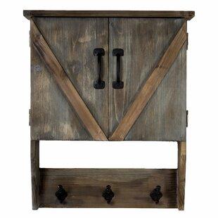 Vasser Hanging Storage Cabinet & Hook Wall Shelf by Gracie Oaks