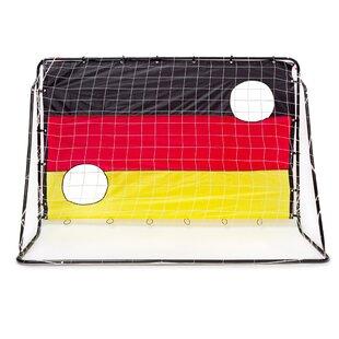 Jamel Germany Shooting Practice Target Shot Football Goal By Freeport Park