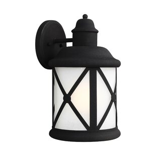 Inexpensive Burwood 1-Light Outdoor Wall Lantern By Darby Home Co