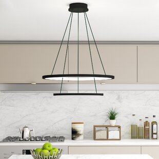 Read Reviews Colindale Modern WiFi-Enab LED  Chandelier By Wade Logan