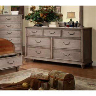 Geary 7 Drawer Double Dresser